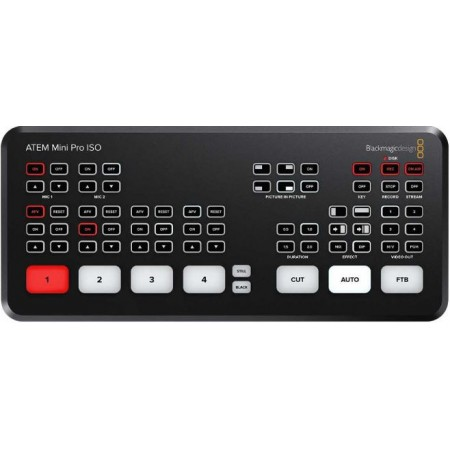 Switcher ATEM Mini PRO ISO